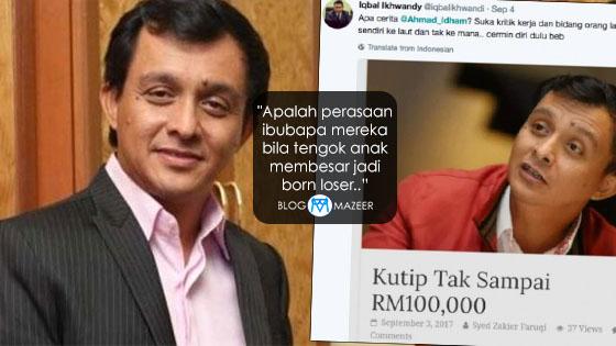 """Filem Tak Dapat Sambutan, Ahmad Idham Label Pengkritik """"Loser"""""""