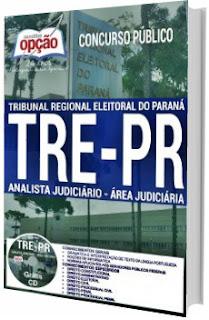 Apostila concurso TRT-PR 2017 Analista Judiciário