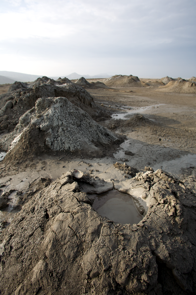 Mud Volcanoes at Gobustan