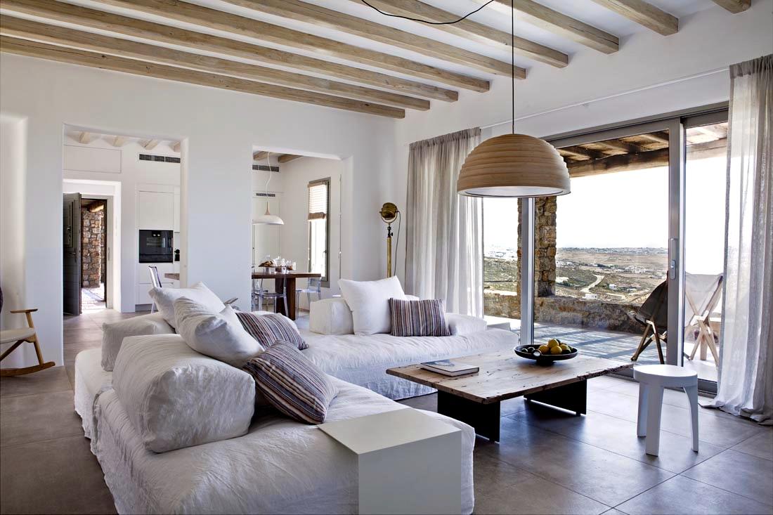 Decordemon Villa Amra In Mykonos Greece