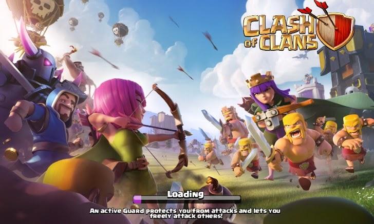 Awas!!! Jangan Memainkan Game Clash of Clans,Karena Berbahaya