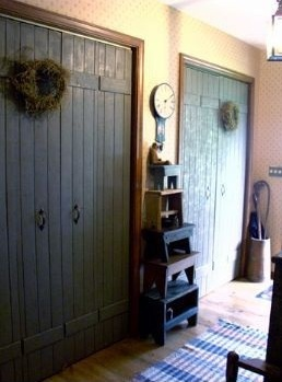 And Here Is My Faux Barn Doors For Pantry