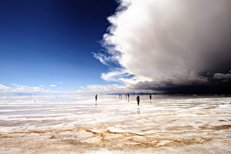 "The World's Largest Salt Flat ""Salar De Uyuni"" in Bolivia"