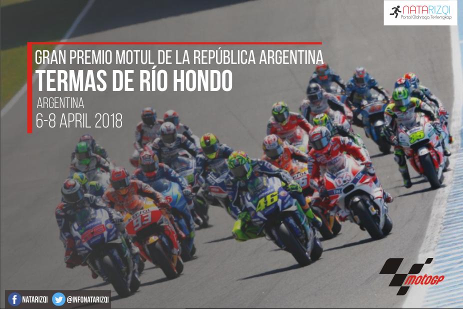 Jadwal MotoGP Termas Argentina 2018 Terbaru Live Trans 7