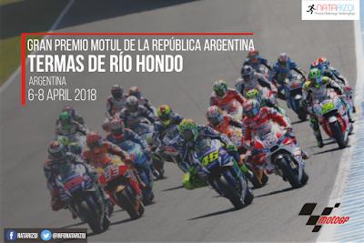 Jadwal MotoGP Termas Argentina 2018