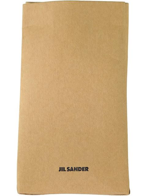 Jil Sander Vasari Clutch Paper Bag