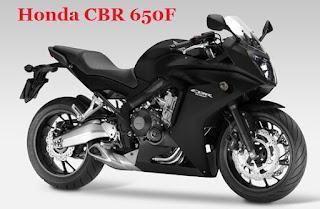 Harga motor CBR650F baru bulan ini warna Graphite Black