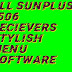 All SunPlus 1506 Reciever Latest Software Stylish Menu