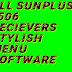 All SunPlus 1506 Reciever Latest Software Stylish Menu