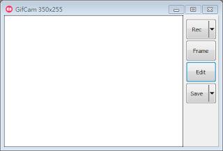 螢幕錄製 GIF 動畫檔案:GifCam Portable 免安裝版下載