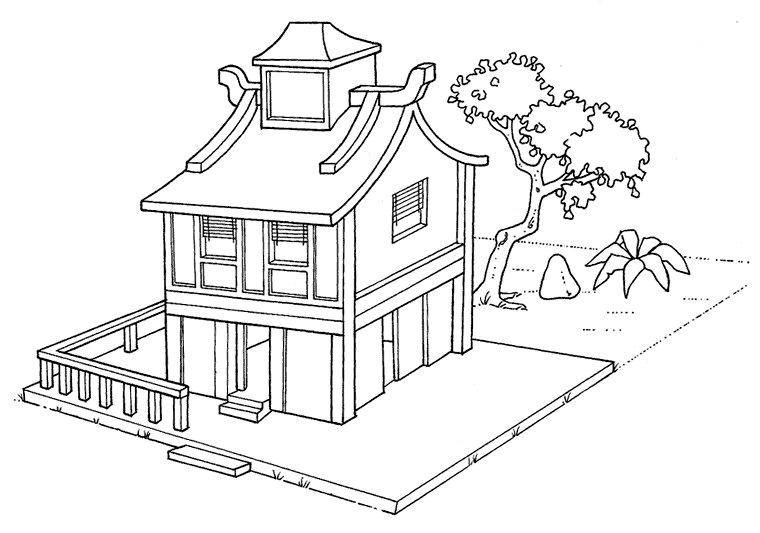 A hist ria das moradias atividades e modelos de casas mundinho da crian a - Disegno progetto casa ...