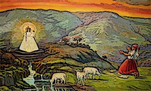 Leyenda de la Virgen de Urkupiña Bolivia