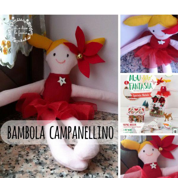 Bambolina Campanellino su Ago Filo e Fantasia