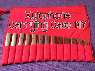 Xylophone Carrying Case DIY