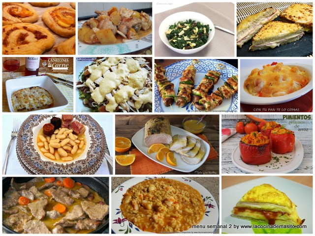 la cocina de masito menu semanal numero 2