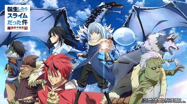 Tensei shitara Slime Datta Ken - Daftar Anime 2018 Terbaik dan Terpopuler