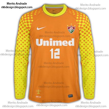 9b14e9f3ea FFC - Camisa de Goleiro Nike Laranja