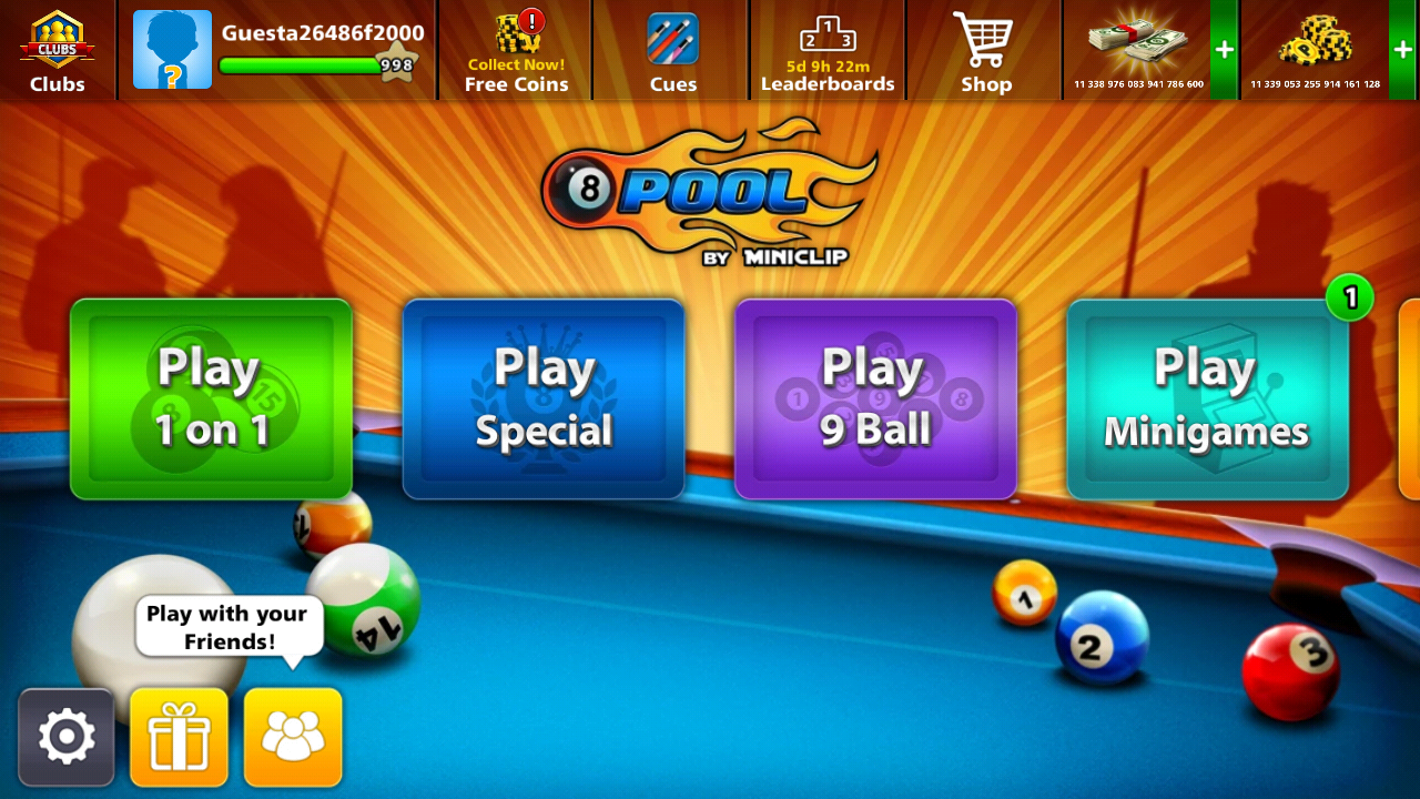 free 8 ball pool coins hack 2018