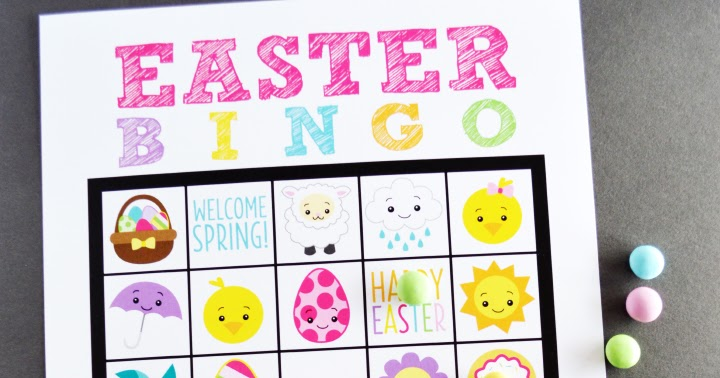 graphic about Free Printable Easter Bingo Cards identify Totally free Printable Easter Bingo artsy-fartsy mama