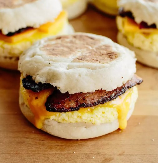 Freezer-Friendly Breakfast Sandwiches
