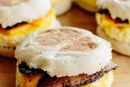 Freezer-Friendly Breakfast Sandwiches