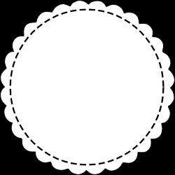 circle gift tag template free digital scalloped circle scrapbooking tags