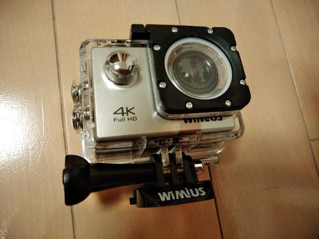 アクションカメラ WiMiusの写真