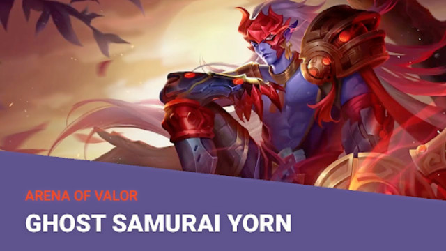 Hero AOV Ghost Samurai Yorn