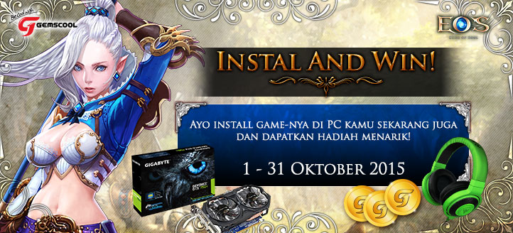 "CBT Echo of Soul Hadirkan Event ""Install and Win"""