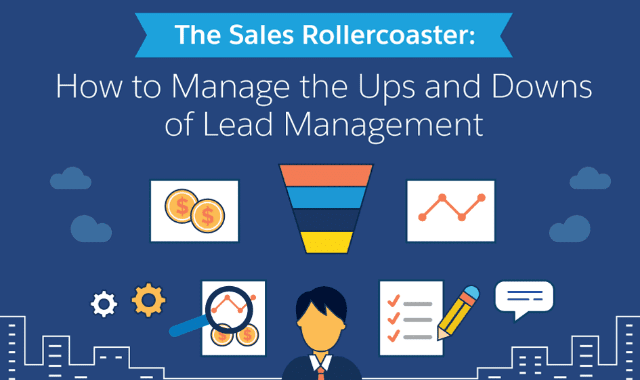The Sales Rollercoaster: How to Manage the Ups and Downs of Lead Management