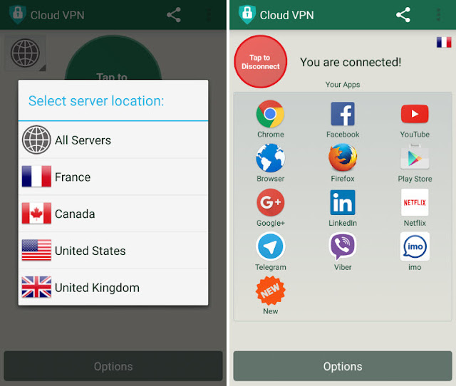 Cloud VPN App