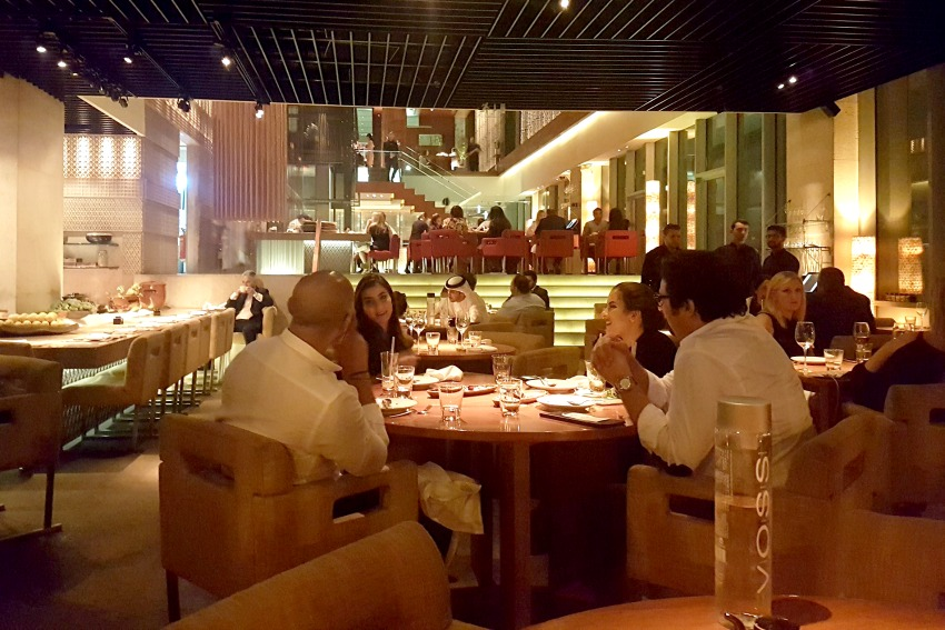 A mouthwatering end at zuma dubai lux life a luxury for Luxury places in dubai