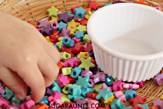 Motoric separation of the two sides of the hand is needed for precision in fine motor tasks, including activities that require in-hand manipulation. Simple ideas to help work on this important fine motor skill.