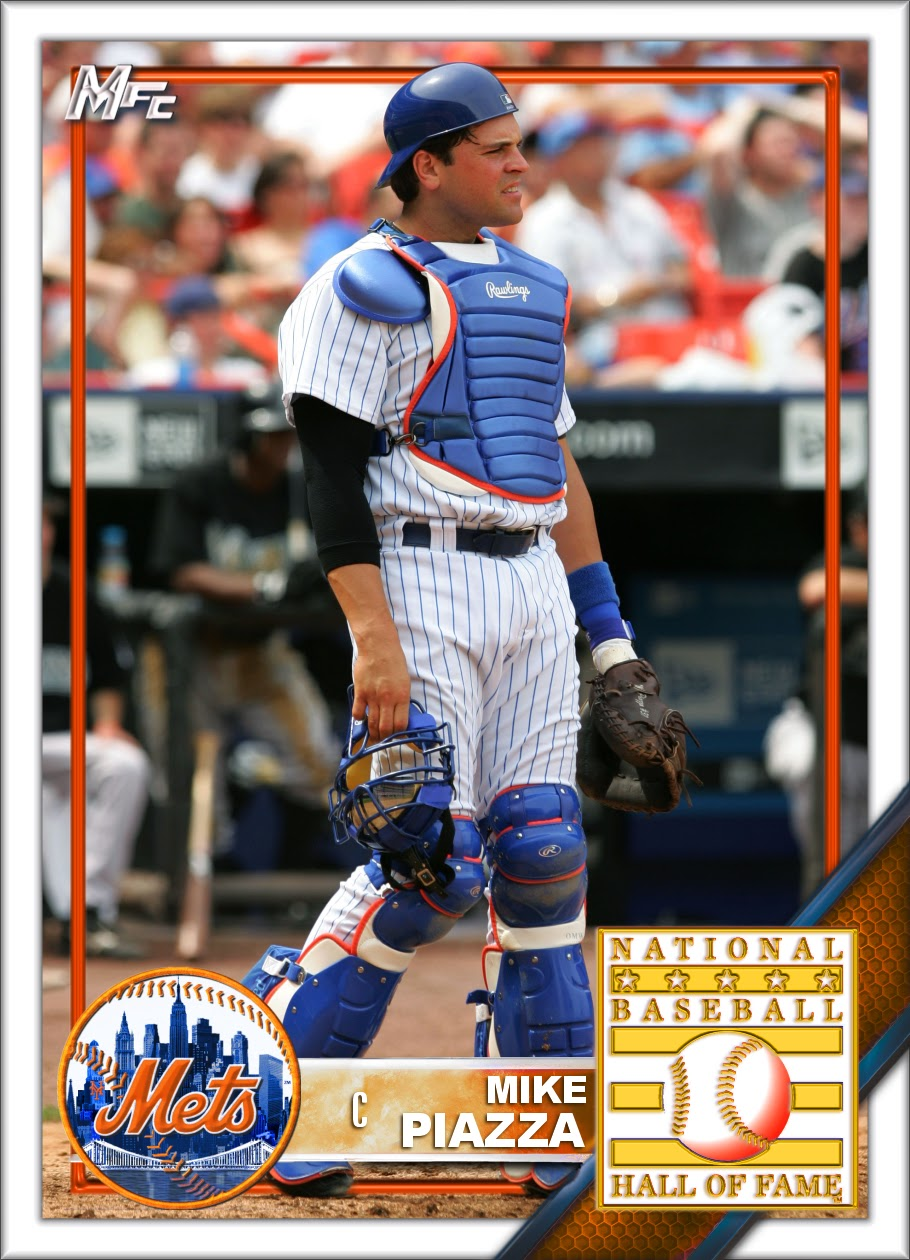 Mets Baseball Cards Like They Ought To Be Mike Piazzaken Griffey