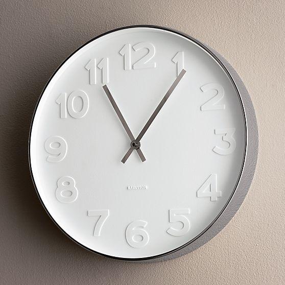 Copy Cat Chic West Elm Mr White Wall Clock