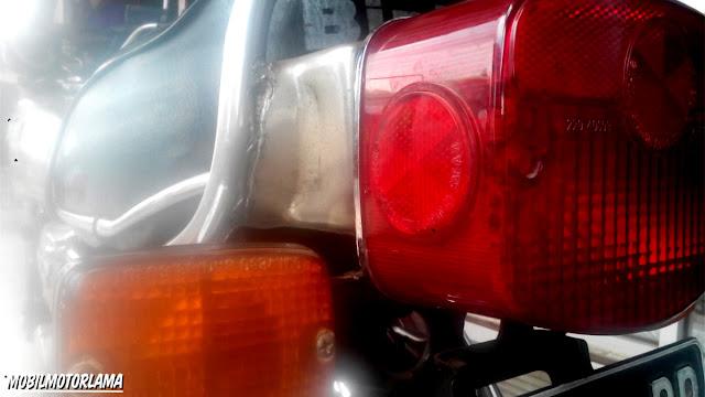 Lampu belakang Binter GTO