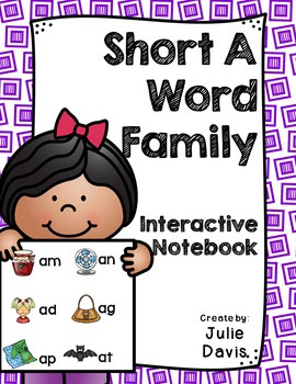 https://www.teacherspayteachers.com/Product/Short-A-Word-Family-Interactive-Notebooks-Bundle-2480164