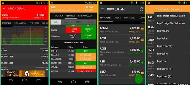 Aplikasi main saham android