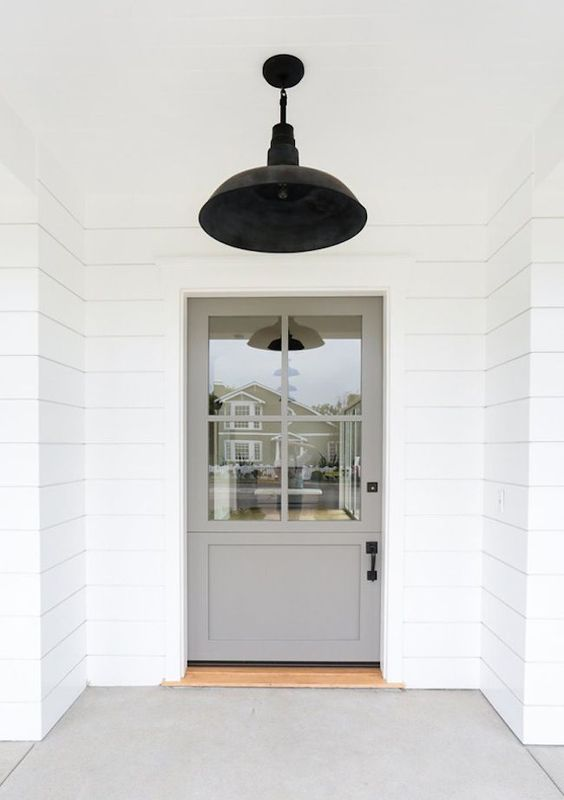 Beautiful door inspiration for home design seen on Hello Lovely Studio