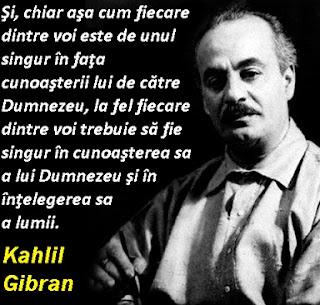 Kahlil Gibran despre învăţătură