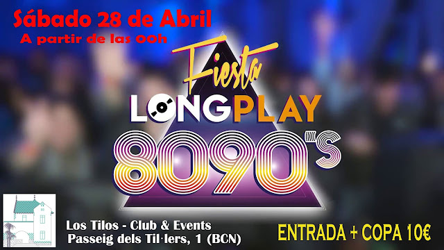 Flyer Fiesta Long Play 80's 90's