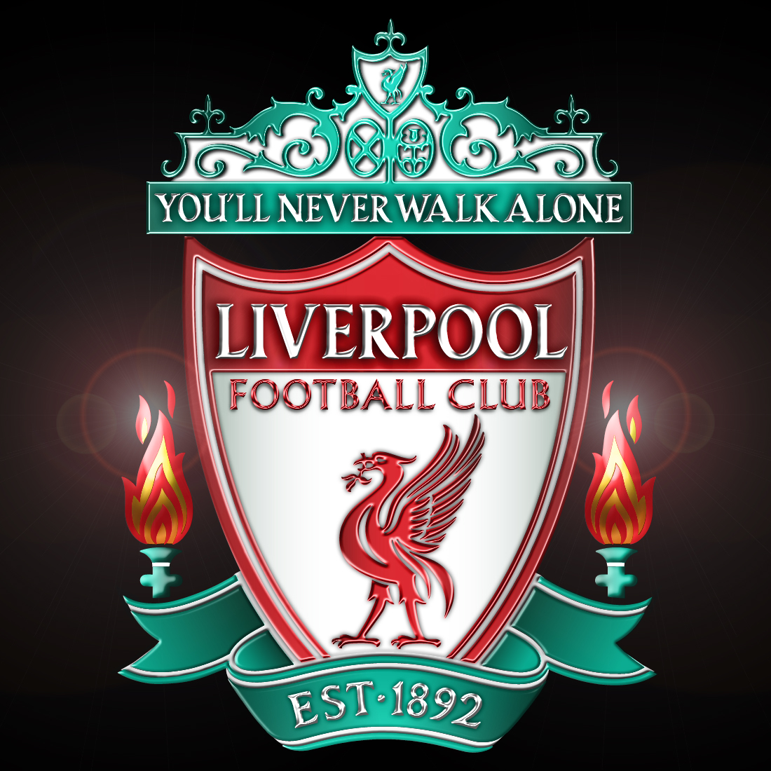 Football Clubs: England Football Logos: Liverpool FC Logo Picture Gallery