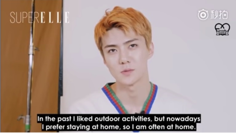 [ENGSUB] 170815 Sehun's Interview with SuperELLE Magazine Full HD