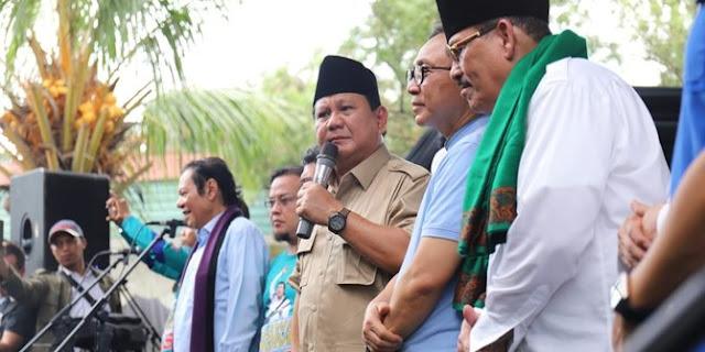 Prabowo Curhat ke Pendukungnya: Saya Bercanda saja Dipersoalkan