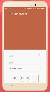 Cara blokir sms dan telpon di hp xiaomi