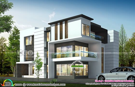 5 bedroom 4040 sq-ft ultra modern home