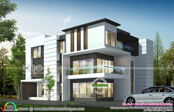 5 bedroom 4040 sq-ft ultra modern home