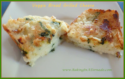 Sweet-Hot Veggie Bread Grilled Cheese | www.BakingInATornado.com | #recipe #lunch