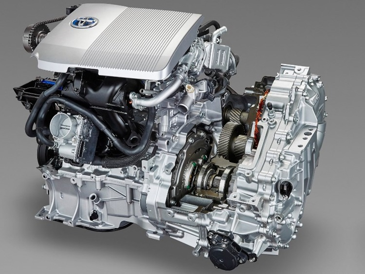 2018 Toyota GR HV Engine