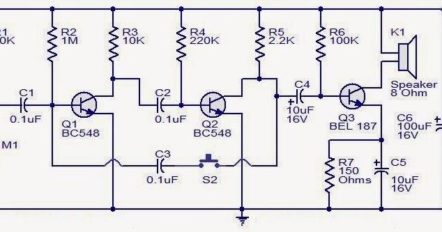 Low Cost Intercom Using Transistors Circuit Diagram - Wiring Diagram DB